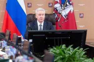 Мэр Москвы Сергей Собянин на заседании Президиума Правительства Москвы(1)
