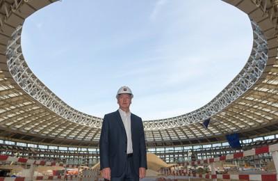 Мэр Москвы Сергей Собянин считает, что «Лужники» вновь станут излюбленным местом отдыха москвичей