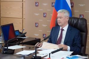 Мэр Москвы Сергей Собянин провел совещание по оперативным вопросам в столичном Правительстве на тему  готовности образовательных учреждений к учебному году