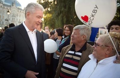 Мэр Москвы Сергей Собянин объявил об окончании благоустройства еще пяти улиц в центре столицы