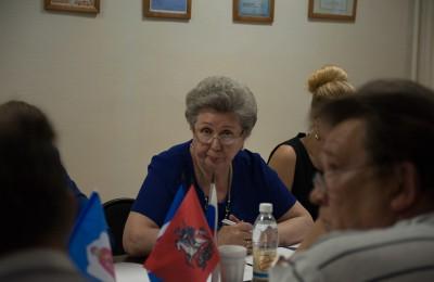 Депутат муниципального округа Татьяна Родионова