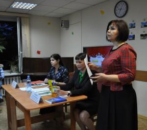 Заместитель главы управы по работе с населением Лариса Приходько