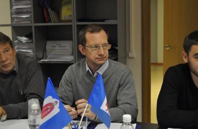 Депутат муниципального округа Даниловский Владимир Хрипунков