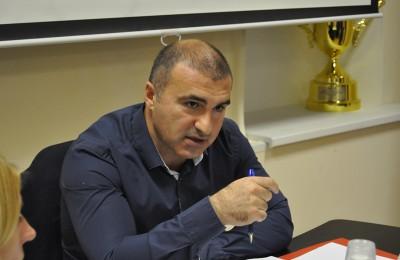 Глава муниципального округа Даниловский Бидзина Хубутия
