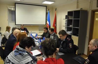 Отчет сотрудников ОМВД на заседании Совета депутатов