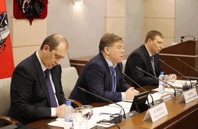 Заседание попечительского совета фонда капитального ремонта в Москве