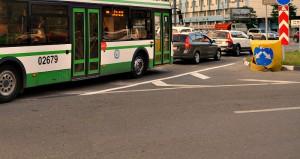 Автобус 99 в Даниловском районе