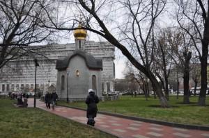 Сквер на улице Даниловский Вал