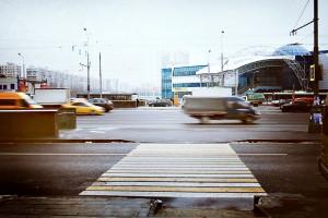 Каширское шоссе в районе метро
