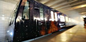 «Космический поезд» на Таганско-Краснопресненской линии метро