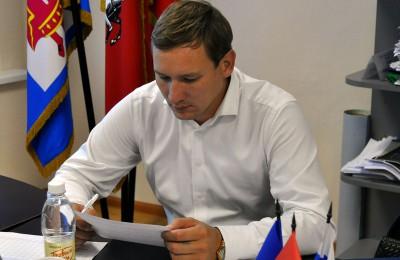 Депутат муниципального округа Даниловский Алексей Внуков проведет встречу с жителями