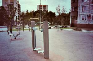 Спортивная площадка в Даниловском районе