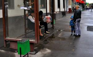 Автобусная остановка в Даниловском районе