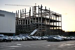 Строительство на территории бывшего завода имени Лахичева