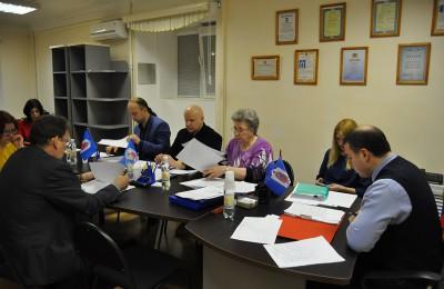Депутаты Даниловского района на заседании