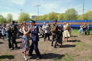 Праздник в честь Дня Победы в ЮАО