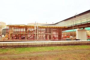 Станция МКЖД Автозаводская в Даниловском районе