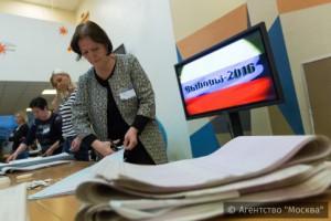На предварительное голосование Единой России в Москве пришло более 6,5% избирателей
