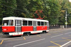 Трамвайные пути в ЮАО