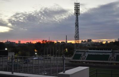 Стадион имени Стрельцова в Даниловском районе
