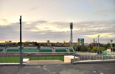 Стадион Торпедо в Даниловском районе