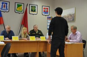 Призывная комиссия в Даниловском районе