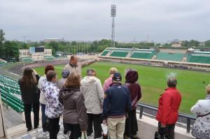 Посетители ТЦСО Даниловского района на стадионе Торпедо