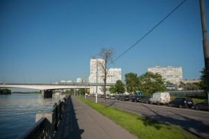 Мост через реку в ЮАО