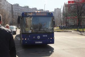 Автобус в центре Москвы