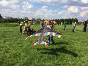 Жители ЮАО смогли посетить фестиваль воздушных змеев