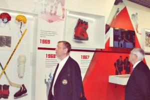 Открытие музея хоккея в Даниловском районе