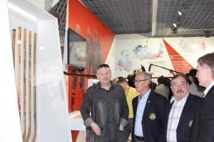 Гости музея хоккея в Даниловском районе