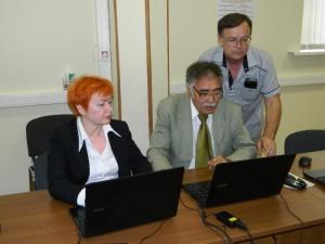 Участники компьютерного чемпионата