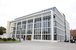 Новое здание мосгордумы на Страстном бульваре