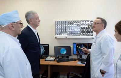 Собянин: Создание электронного архива избавит москвичей от необходимости лишний раз делать рентген