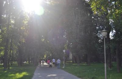 Парк в Даниловском районе