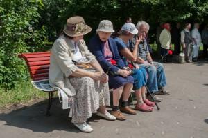 Пенсионеры Даниловского района