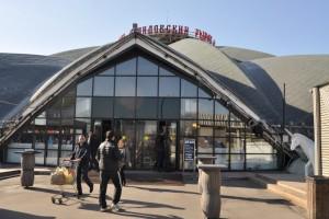 Конечным пунктом беговой экскурсии стал Даниловский рынок