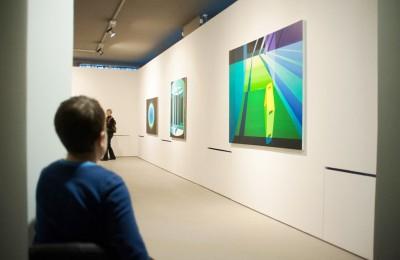 Выставочный зал галереи на Шаболовке