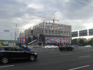 """В """"Парке Легенд"""" строят Центр водного спорта"""