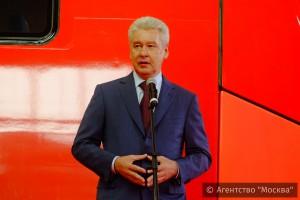 Мэр Москвы Сергей Собянин объявил о старте тестового движения электропоездов по МКЖД
