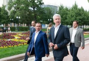 Благоустройство Братеевского каскадного парка заняло менее 2-х месяцев - Сергей Собянин