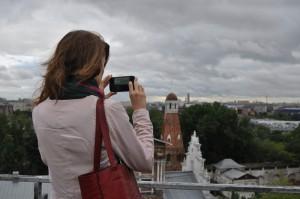 Жителям Даниловского района показали Москву с высоты птичьего полета