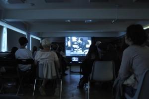 Кинопоказ в одной из библиотек ЮАО