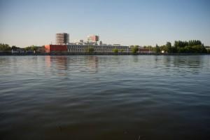 Москва-река в Даниловском районе