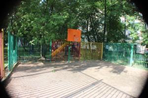 Двор на улице Большая Серпуховская