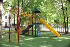 Благоустроенная детская площадка в Даниловском районе