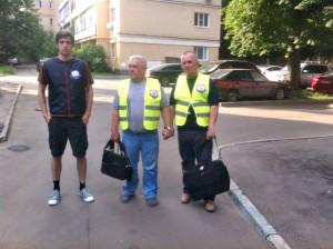 Активисты Безопасной столицы Даниловского района