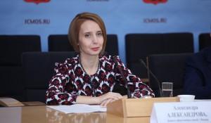 Председатель Комитета общественных связей Москвы - Александра Александрова
