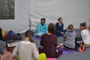 Йога в культурном центре ЗИЛ